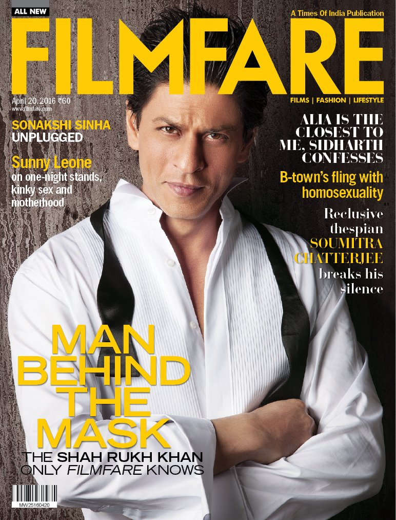 There are superstars and then there's @iamsrk!  Presenting the one and only on our latest cover.  RT if you love it! https://t.co/fR2CrkCccV