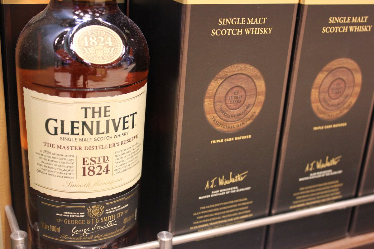 Matured in 3 different woods for unique flavour, try @TheGlenlivet @WorldDutyFree