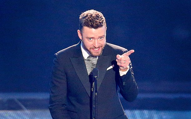 Justin Timberlake's Donald Trump joke got a big response at the iHeartAwards: