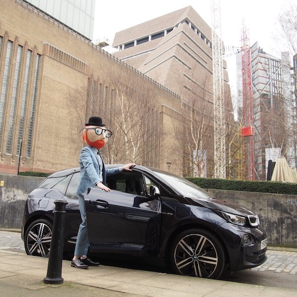 #OOTD 73 #BMWi3 #FutureIcons 1/4 #Sp Took a stylish trip to @Tate Modern's new extension. https://t.co/CeBTTQ57wQ https://t.co/28y9AOpeuU
