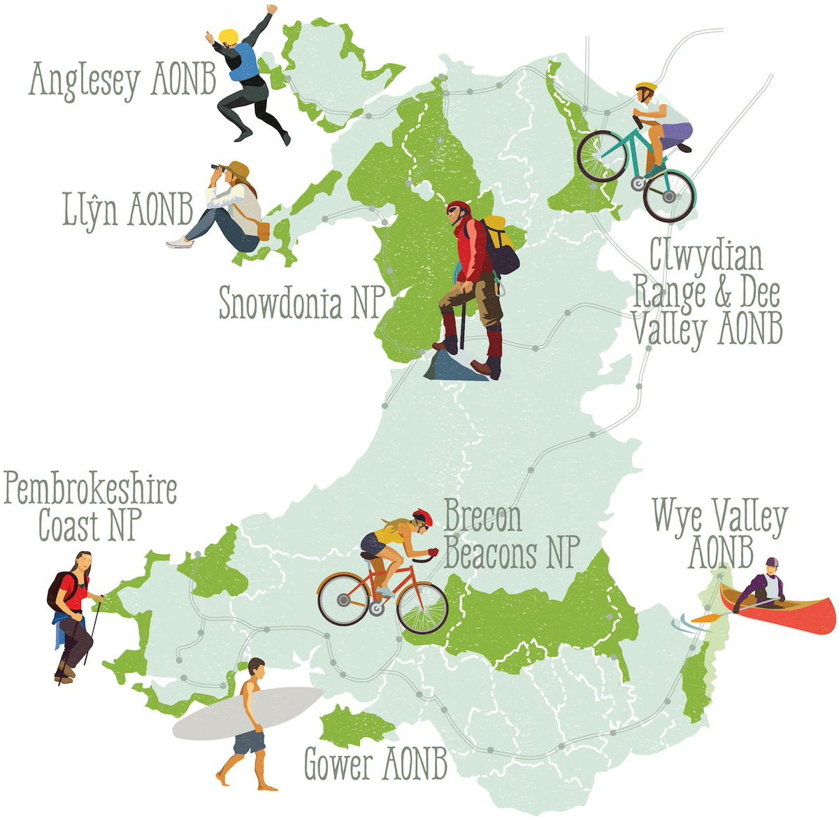 New! Greentraveller's Guide to the 8 Protected Landscapes of #Wales: https://t.co/AQWYR4x3HY https://t.co/rkXLAKMNK1