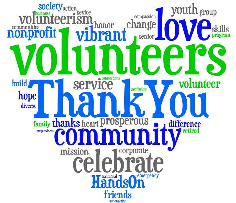 Hats off to Volunteers everywhere!  You are selfless and amazing! #volunteersmakeithappen #NVM2016 https://t.co/kBHh0VrFyY