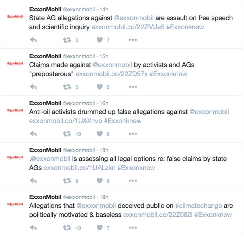 Wow! @exxonmobil Twitter feed! https://t.co/3LsNRCLhRC via @DeSmogBlog https://t.co/JtCkFU1T4z