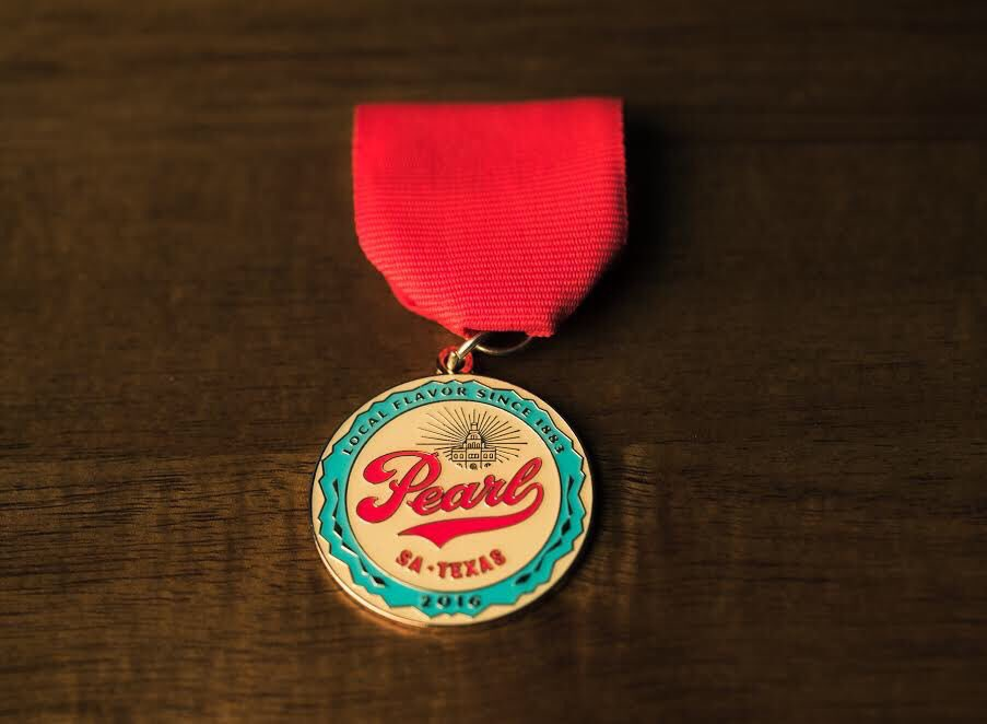 Behold our #FiestaSA Medal! RT and follow us for a chance to win one.