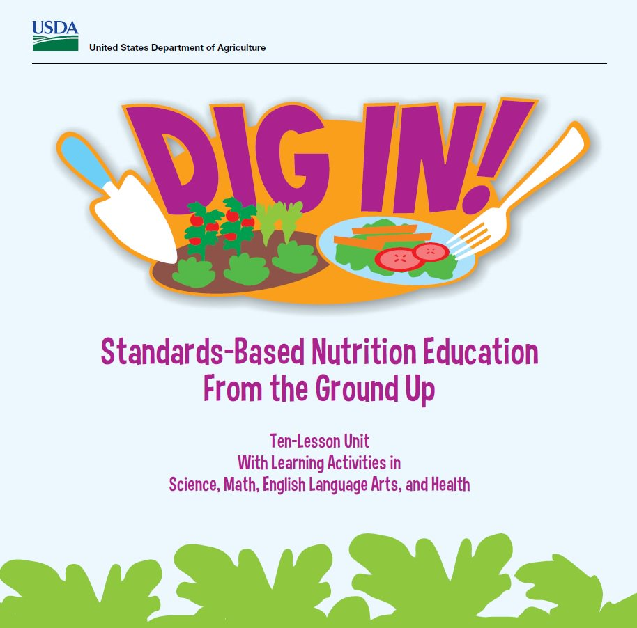 April is #NationalGardenMonth! USDA's Dig In! curriculum helps kids discover gardening: https://t.co/GSvW0qqi56 https://t.co/lGZZXlzMUk