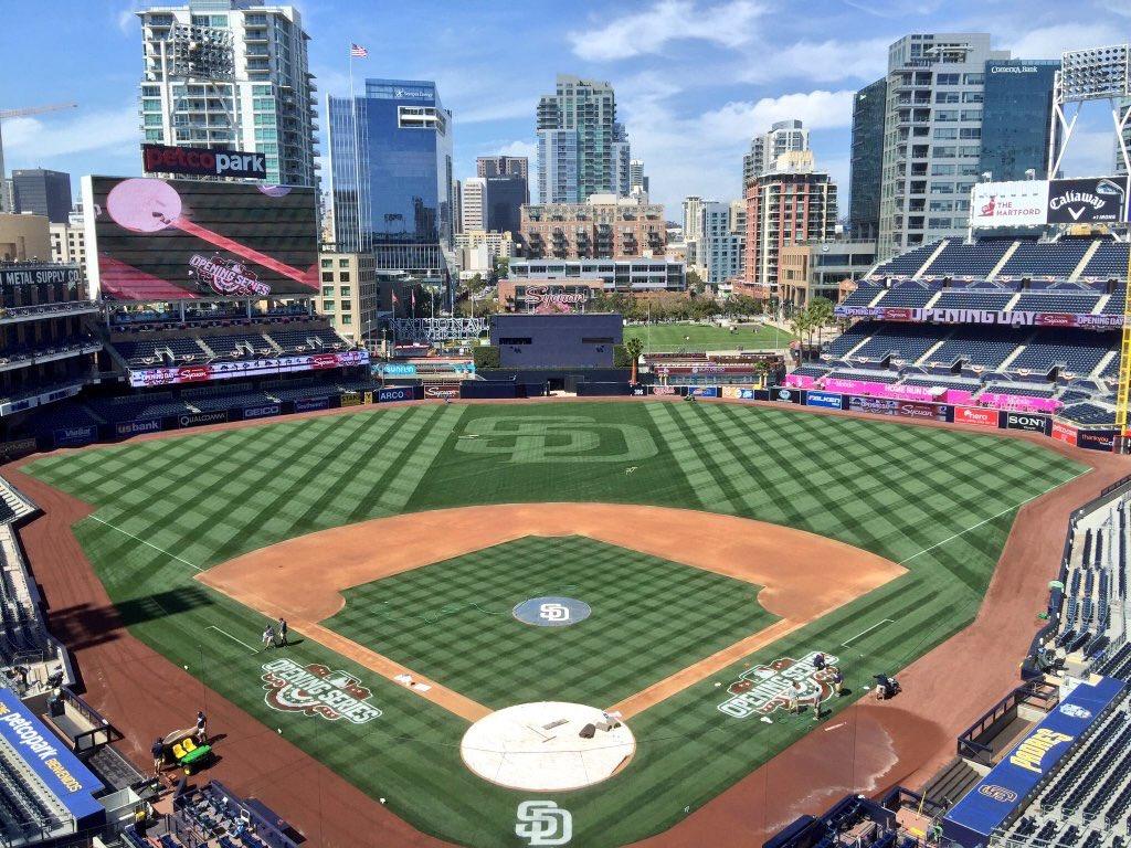 @Padres opening day is finally here! #beatla https://t.co/Zlc1gahT7s