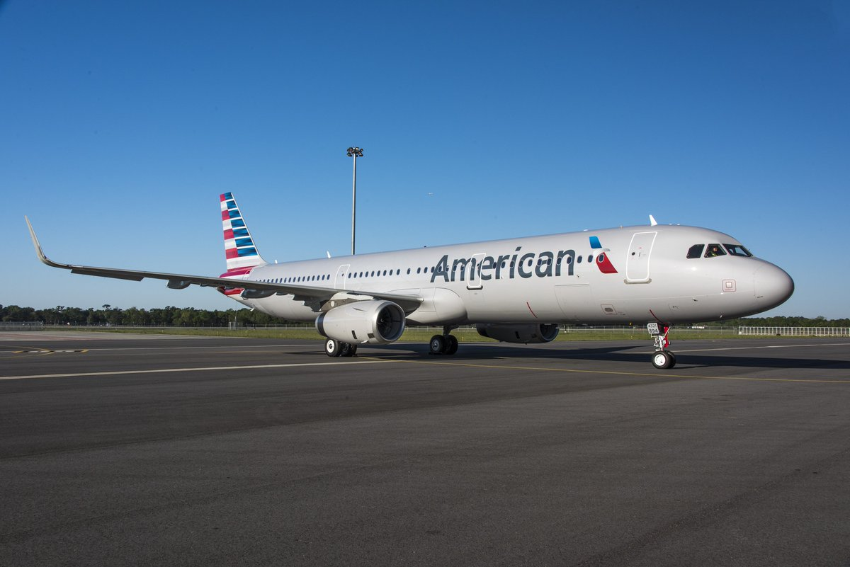 Painting of 1st U.S.-built @AmericanAir #A321 completed at the Airbus U.S. Manufacturing Facility in Mobile, AL. https://t.co/OHpauG7RdO
