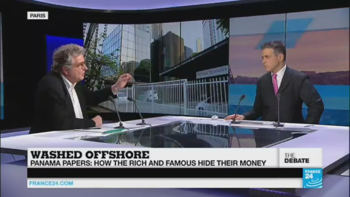 VIDEO -  The Panama Papers: how rich and famous hide their money (part 2)