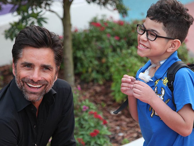 Thank you, @JohnStamos, for always knowing how to make our families smile.