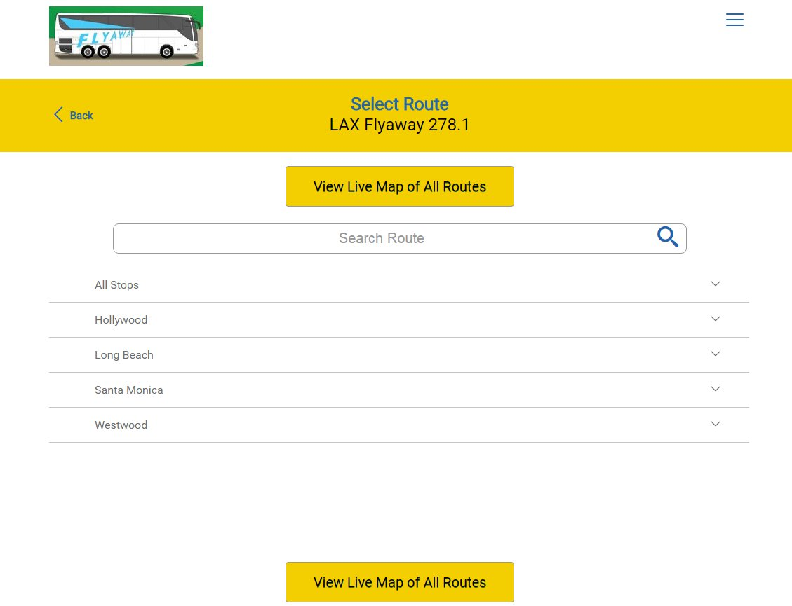 [PIC] Real time arrival info is now available on select LAX FlyAway® routes. Info: