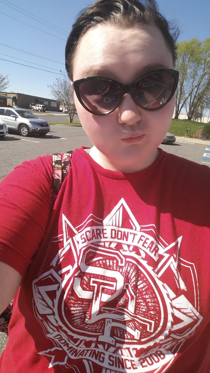 Reppin' that @ScareDontFear all over my city today.