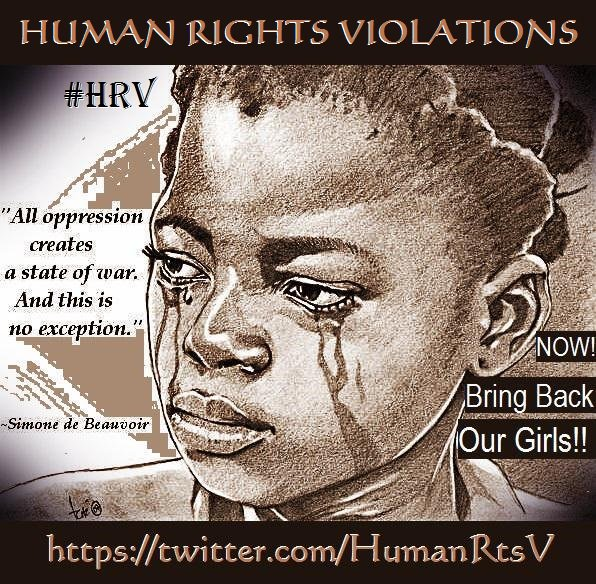 RT @HumanRtsV: 1Yr After #BringBackOurGirls Campaign, No Sign Of Missing Students!https://t.co/ZyuHpOIjd2 @JohnKerry @VP @FBI #HRV https://…