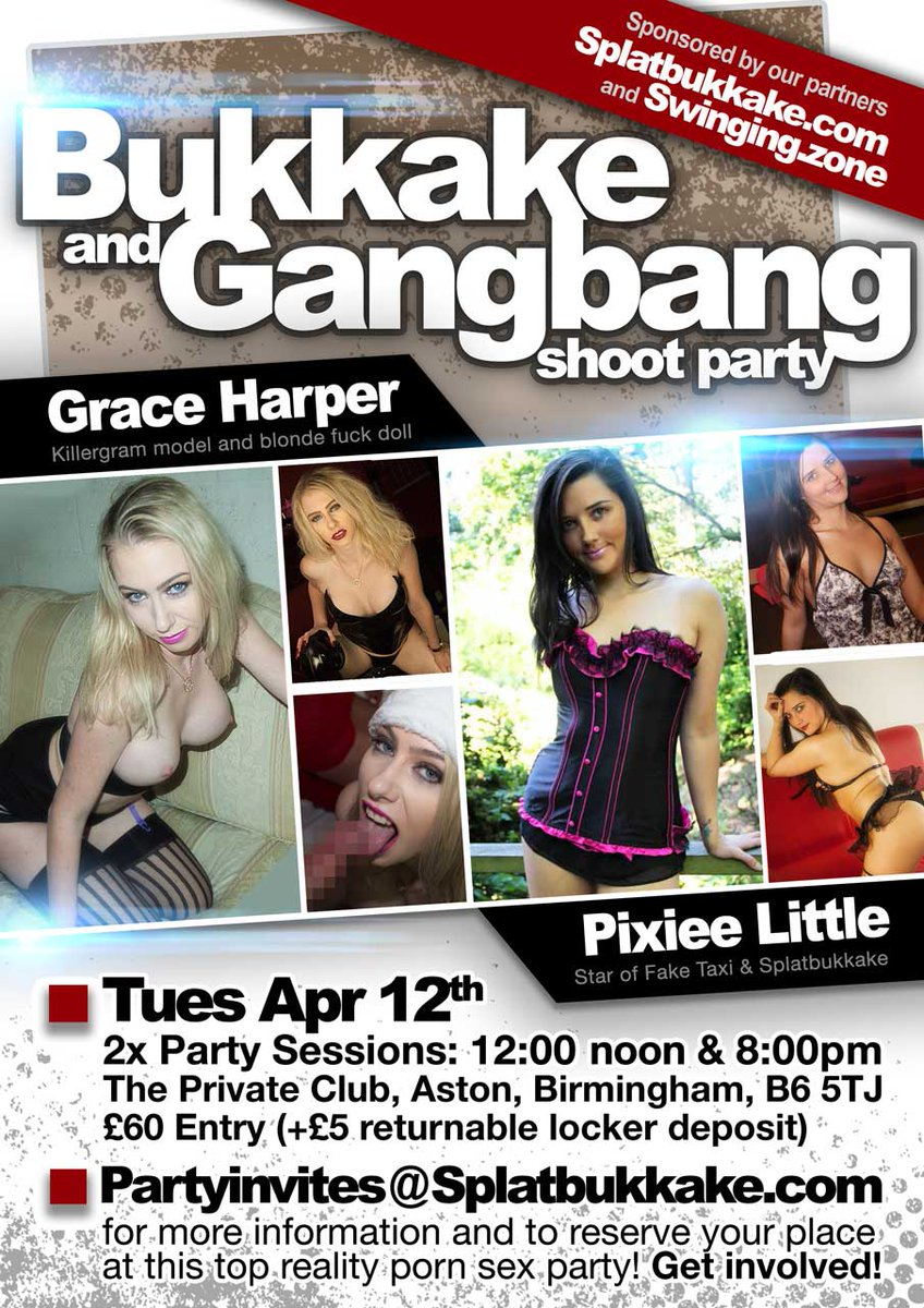 #bukkake #gangbang PARTY OF 2016 with BIRMINGHAM, 12th APRIL Gd9Q52ojUw