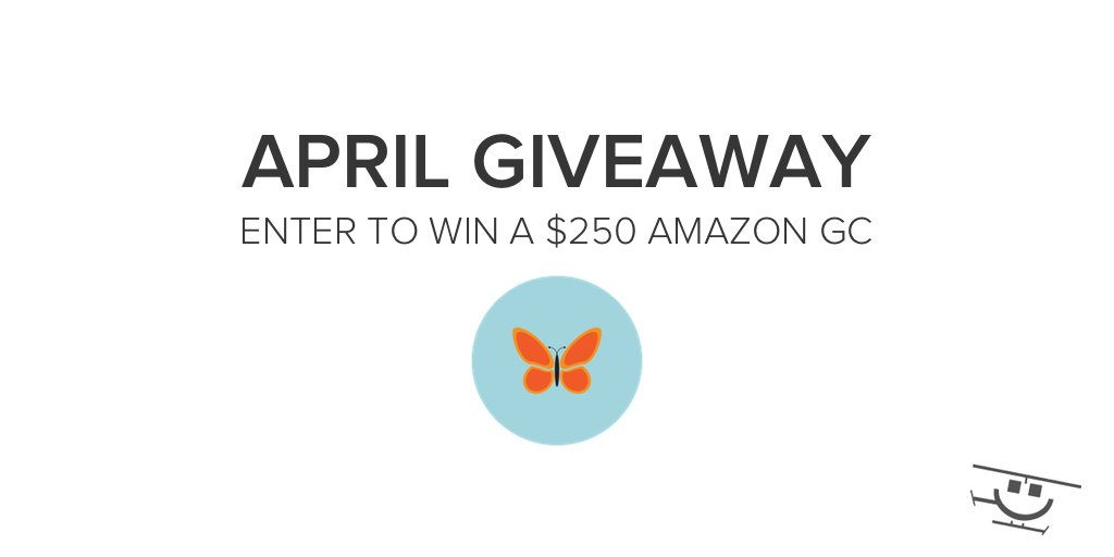 Enter for a chance to win a $250 Amazon Gift Card in our April Giveaway
