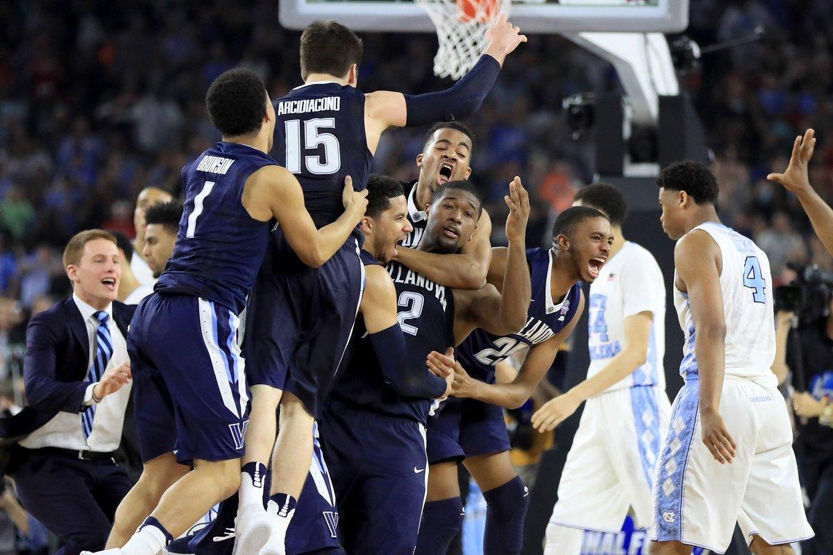 Villanova beats North Carolina in final seconds to win NCAA NationalChampionship game