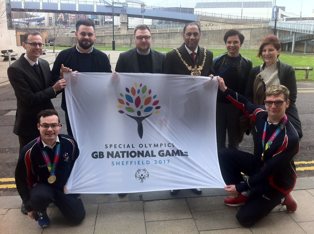 #SpecialOlympicsGB launch search today for 900 National Games Volunteers in Sheffield! Be a part of it! #Sheffield17 https://t.co/LwACjjicL0