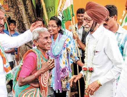 S. Gyan Singh, 91 yrs, 10 times unblemished #Sikh MLA from Khadagpur, W.B. Fighting for 11th time, on public demand. https://t.co/TPPC5RU5N0