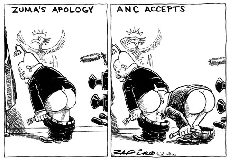 @zapiro on Zuma's apology and ANC's acceptance thereof-an insult to people of SA @TimesLIVE -https://t.co/IAVYelWoFf https://t.co/7vw50zjOK2