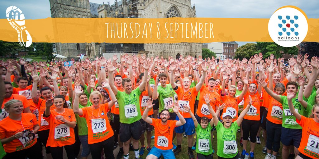 Save the date for the #MM5K Charity Run in aid of @fund4balloons - Thursday 8 September! #CharityTuesday https://t.co/Ti45NRaHVw