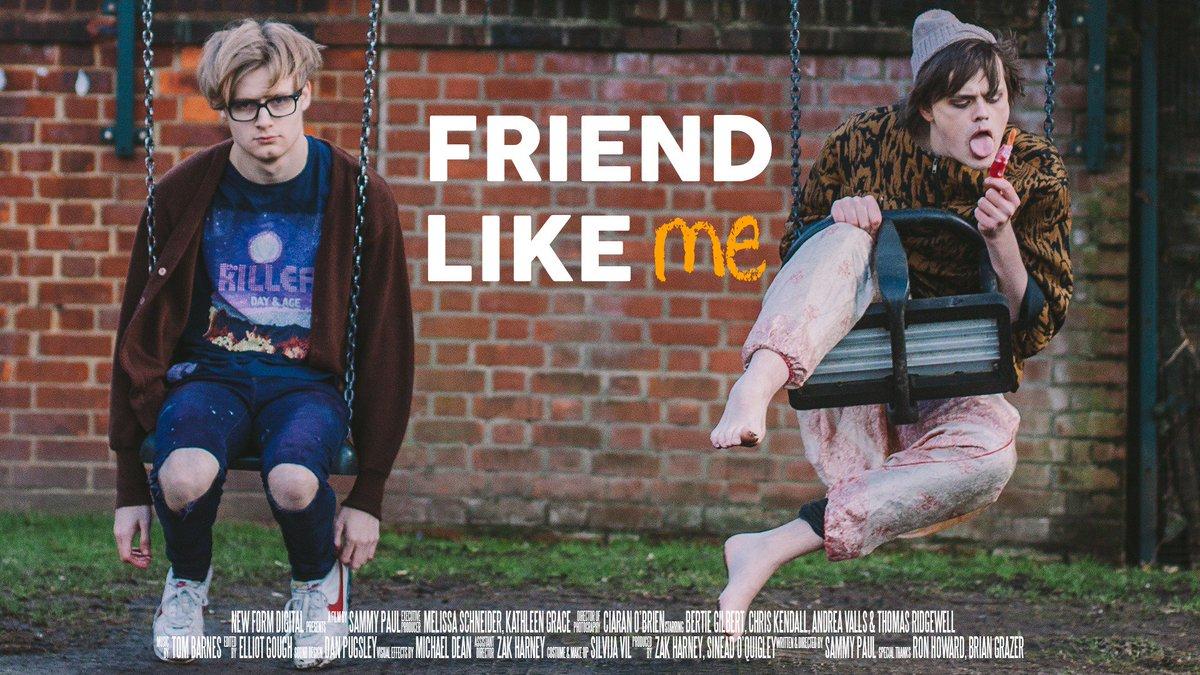 And so, here it is, my new short film #FriendLikeMe.  https://t.co/fsgWRP1SBW https://t.co/gSmwn1Z6OT