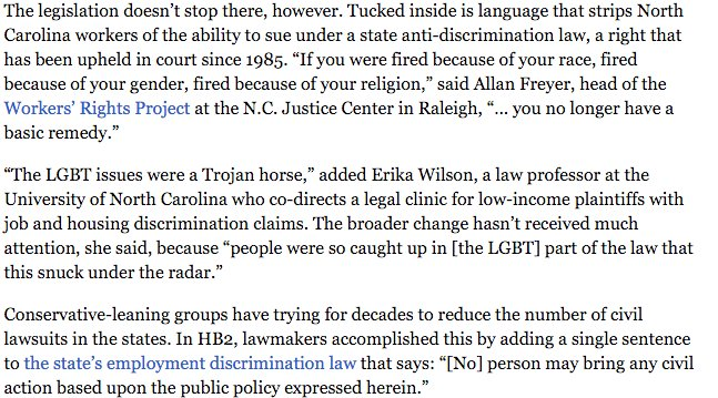 Why North Carolina's new Anti-LGBT law is a Trojan horse https://t.co/GuTf8mttxa https://t.co/5oQsCdFCgf