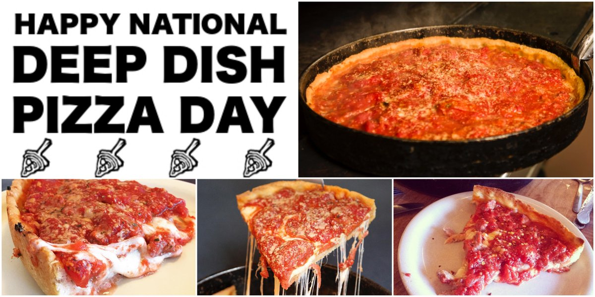 Happy #NationalDeepDishPizzaDay!