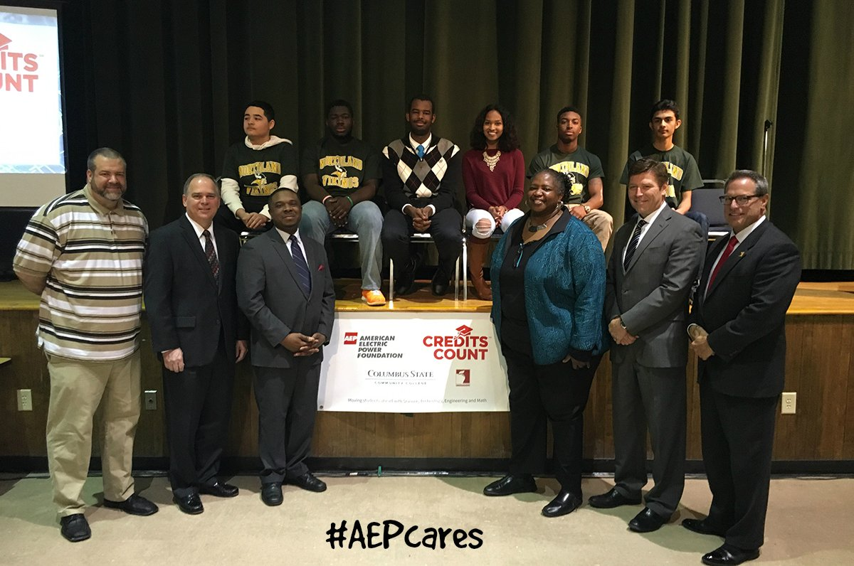 AEP Foundation announces grant to help Northland High School students earn college credit & career certifications. https://t.co/hg7HKh782f