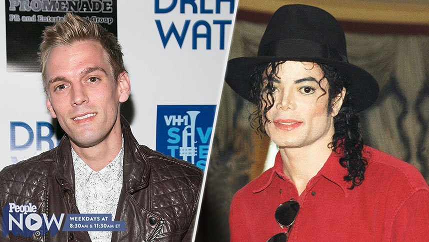 .@aaroncarter opens up about his friendship with Michael Jackson