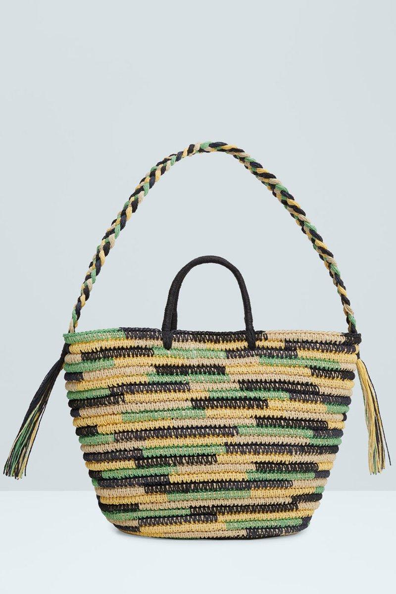 How fun is this @[mango] beach bag - for under £40? - scoopnest.com