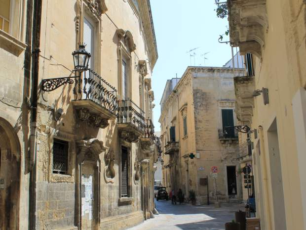 Lecce, in the heel of Italy's boot, is a testament to the wealth of its past via @nplife