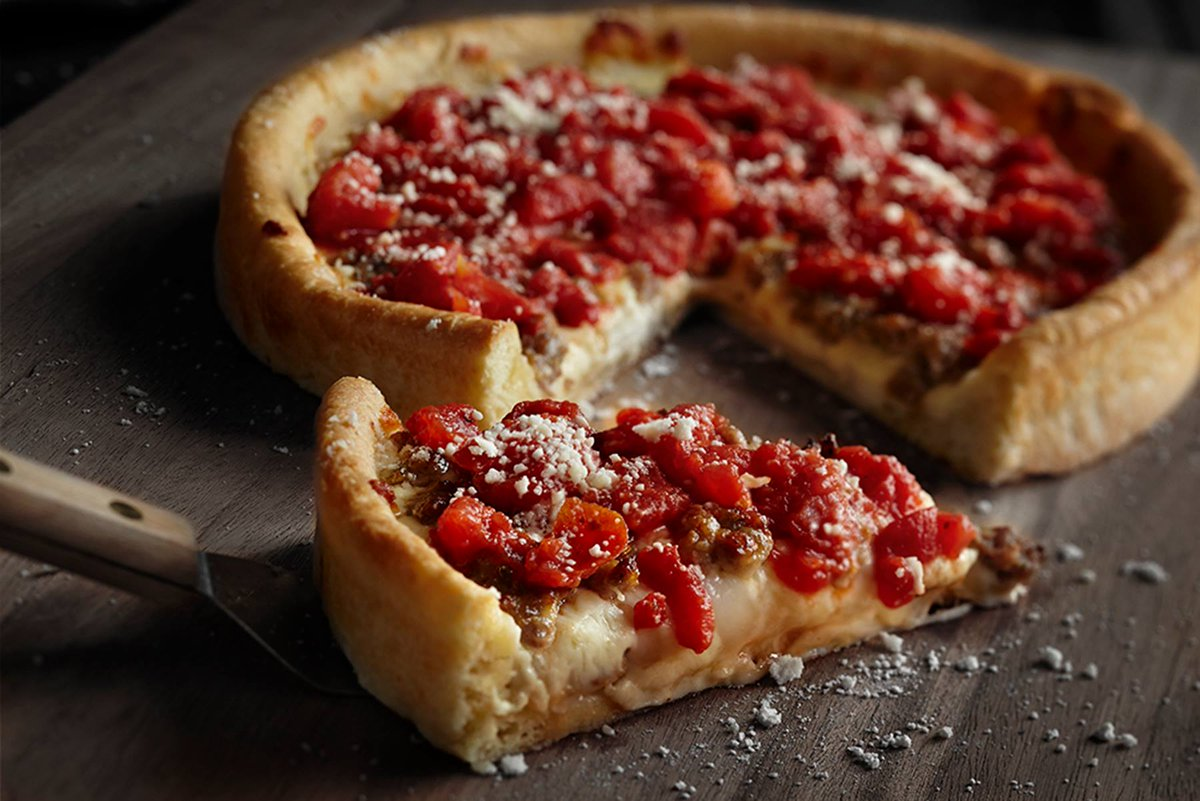 Happy National Deep Dish Day, pizza lovers. Celebrate excessively! https://t.co/ESKIpnJL9e