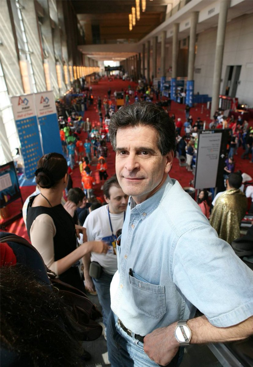 A very happy birthday to @FIRSTweets founder and #inventor, Dean Kamen! https://t.co/ioTNCSJ8jh