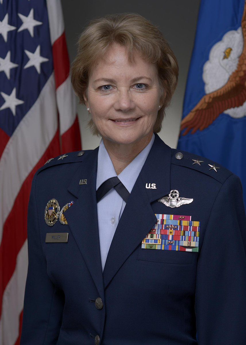 After Senate confirmation, she will become the first female #CitizenAirman to earn Lt Gen during a ceremony in July. https://t.co/lGhBOwDJco