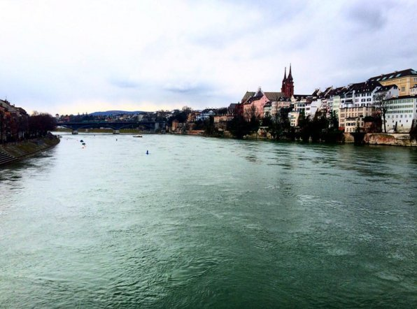 Divided by River Rhine, Basel has 2 distinct personalities: Photo: