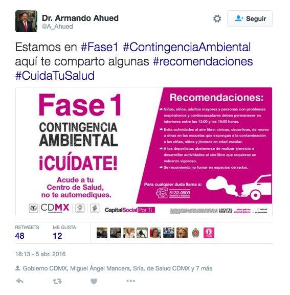 La @CAMegalopolis en silencio, Ahued borrando tuits y mientras un desastre de comunicación hacia los ciudadanos https://t.co/FLSJ6X17W0
