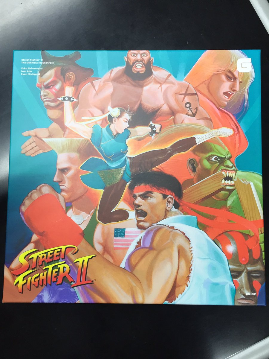 Check out the amaaazing packaging on @BraveWaveMusic's Street Fighter II vinyl soundtrack <3 https://t.co/a05atC4Ihu