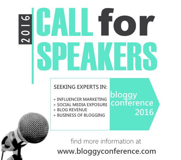 Yes, we are still accepting speaker proposals for Bloggy Conference 2016 #BloggyCon16 >>> https://t.co/qzN6zTrx78 https://t.co/0dI8z3wZCk