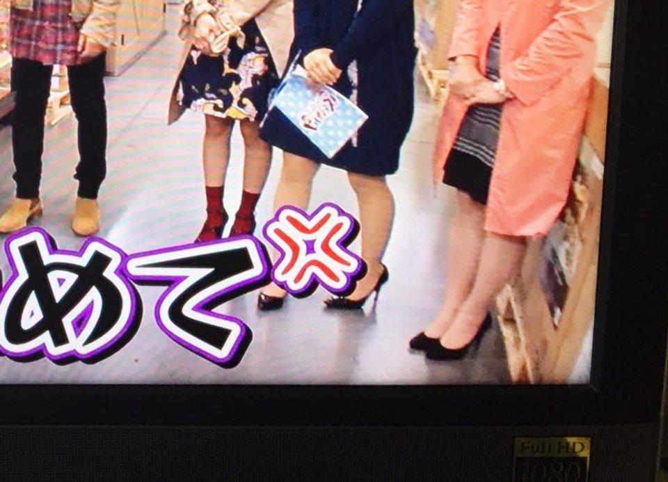 今日のヒルナンデスは自分が出ているVをスタジオでPerfumeさん @Perfume_Staff が観ているという大興奮の日でした。100%誰も気づいていないと思いますが私がロケで履いていた靴はダンスヒールだったのですぅ #prfm https://t.co/8nIXliRe58