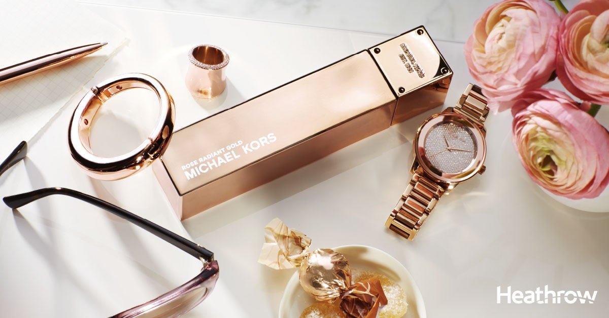Purchase any 100ml Michael Kors fragrance & receive your free gift, only at @WorldDutyFree!
