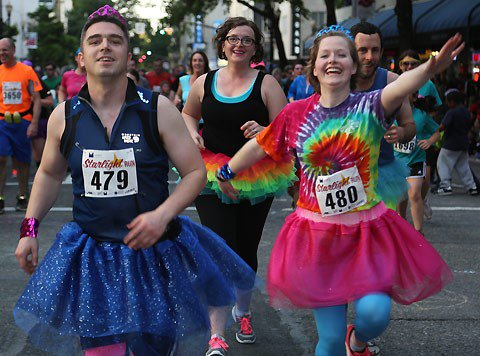 Proud to support @StarlightRunPDX. Wear a costume for a chance to win round-trip tickets!