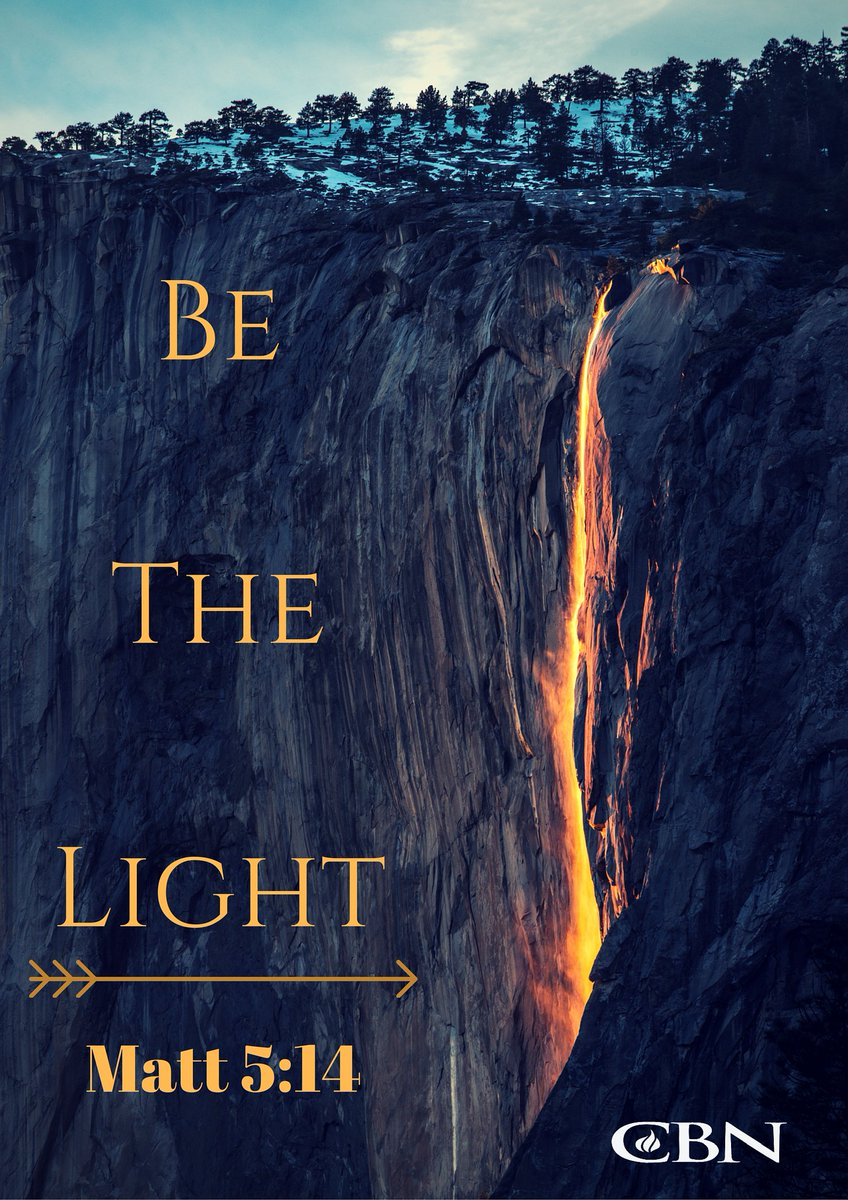 """""""You are the light of the world. A city that is set on a hill cannot be hidden."""" - Matthew 5:14 #WednesdayWisdom https://t.co/JjQtN6HvkU"""
