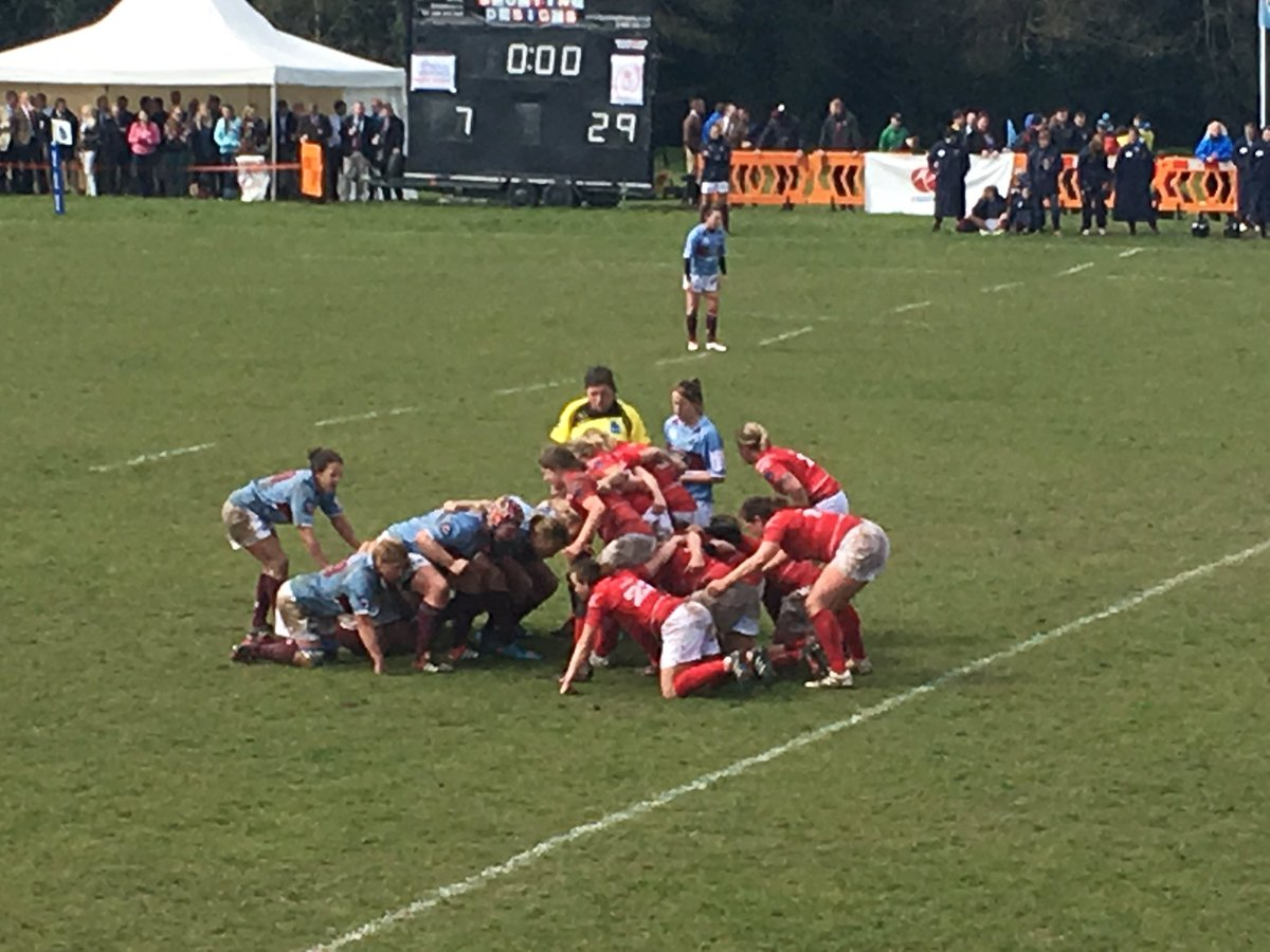 Full time and Army women win it 29-10, best game of women's rugby in a long long time ! Congratulations both sides https://t.co/6DBUERfGPk