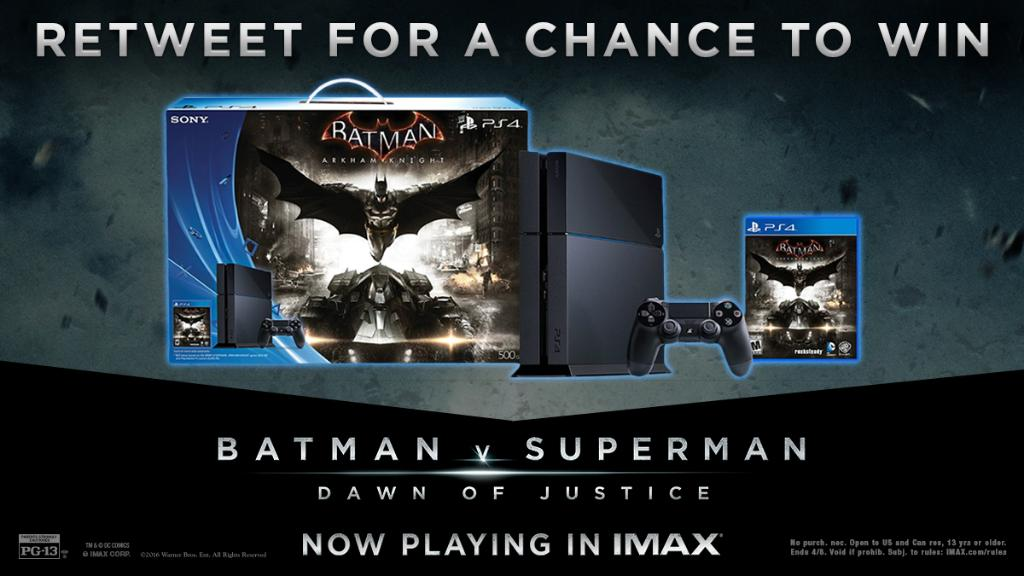 Put your Caped Crusader skills to the test. Retweet for your chance to win a #PS4 & @BatmanArkham Knight! https://t.co/0UbzjAW85E