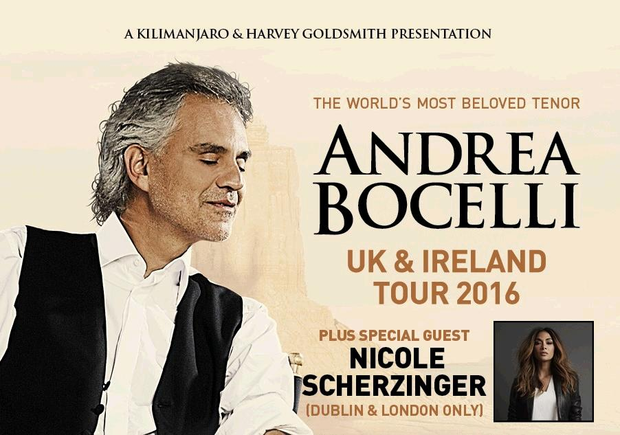 RT @TicketmasterUK: #tmAnnounced @NicoleScherzy will be right there w/ @AndreaBocelli as support in London! https://t.co/ZuMNBzMXBz https:/…
