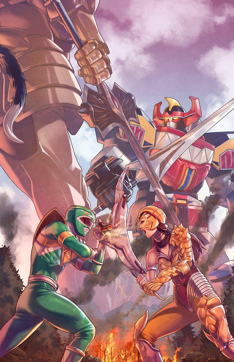 Power Rangers 2. Out today. Do yourself a favor and take our Zords for a spin https://t.co/3m8g87DHJc