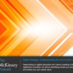 Do you understand the economics of digital disruption? We discuss on latest McKinsey Podcast https://t.co/tjle2RkMfQ https://t.co/uhakSWugcd