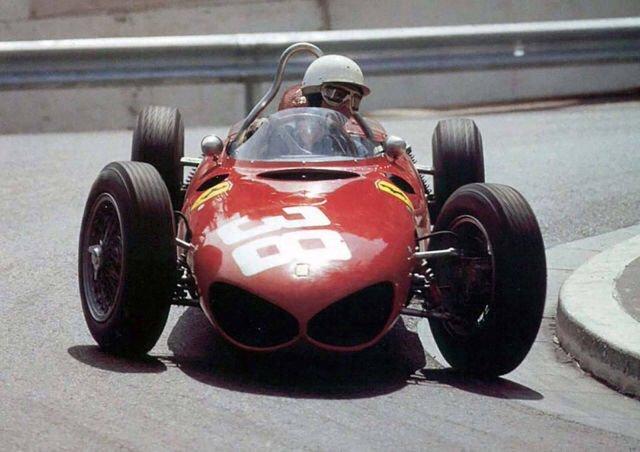Phil Hill (Ferrari) Monaco Grand Prix 1961 https://t.co/1ELIS2eYk4