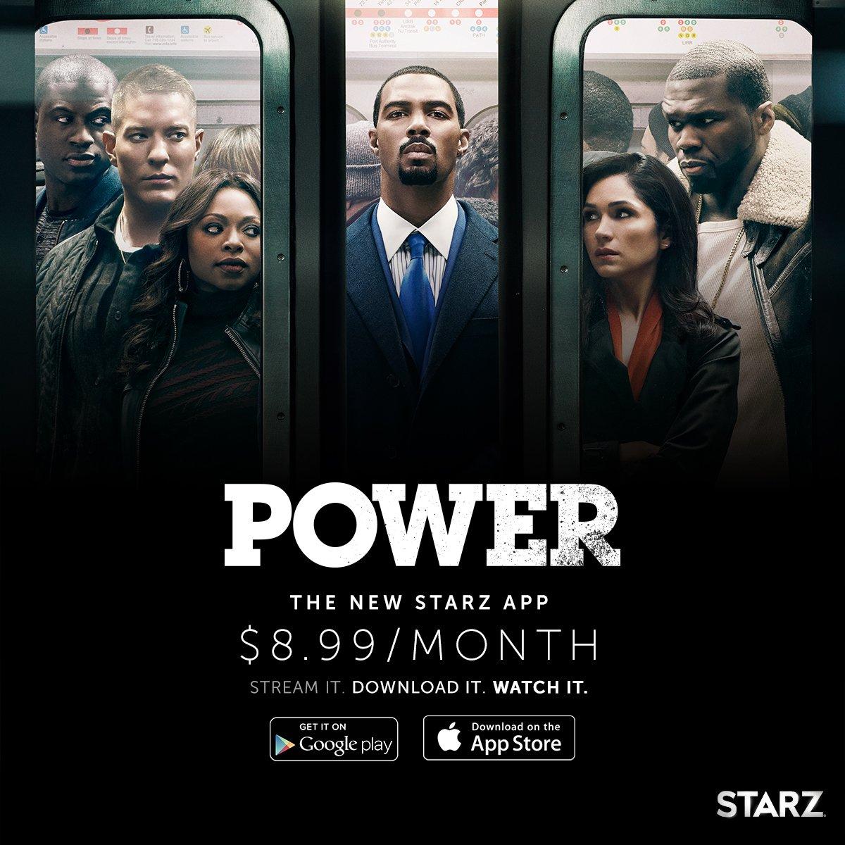 STARZ got an app now you can watch the best show @Power_STARZ any where. don't miss it https://t.co/HgnEkTPVlN https://t.co/oNMpl7AFzf