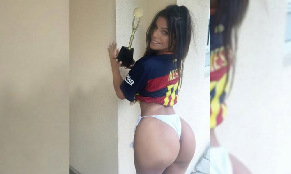 RT @periodicoam: #FotoGalería Miss Bumbum, la sexy incondicional del MSN del Barcelona https://t.co/FYNPYS3NT9 https://t.co/xW9FeqBMN0