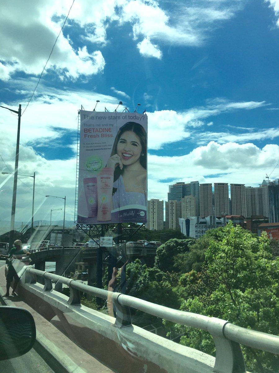 Ang ganda ng bumungad sa aking umaga kahit trapik sa metropolis! @mainedcm 's billboard. Gondoh! #ALDUB38thWeeksary https://t.co/JQ740nrToW
